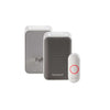 Honeywell 3 Series Plug In Wireless Doorbell with Strobe Light