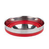 Hutch Collapsible Silicone Mixing Bowl Red