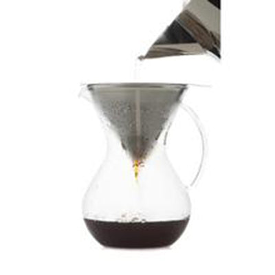 Hutch Pour Over Coffee Brewer with Filter