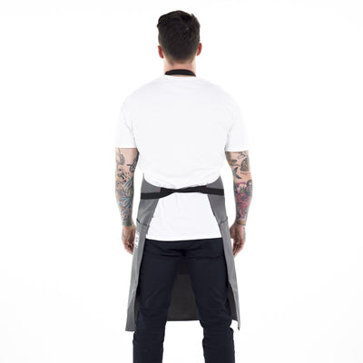 medium-rare-chef-apparel-black-dog-apron-charcoal grey-back-l1