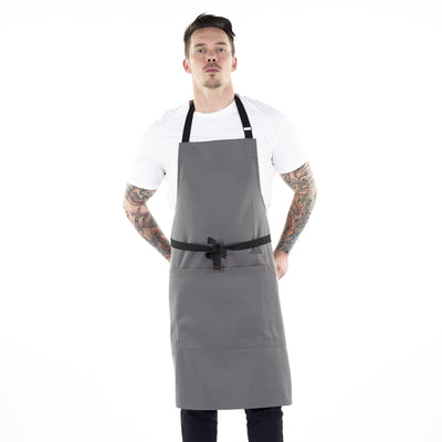 medium-rare-chef-apparel-black-dog-apron-charcoal grey