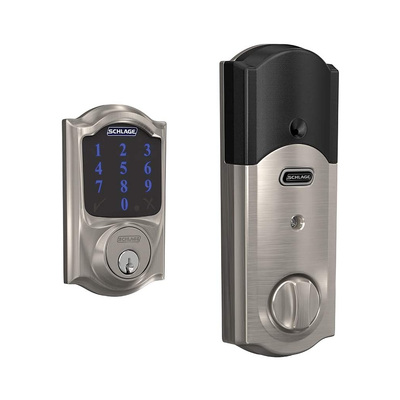 Schlage Smart Deadbolt with Alarm Lock