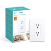 TP Link Kasa Smart WiFi Plug 2 Socket Outlet