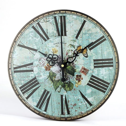 Retro Wall Clock European Style Living Room Modern Wall Clock With Free Shipping