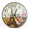 Image of Home Decoration Large Watch Wall Clock Circular Vintage Wall Clock With Free Shipping