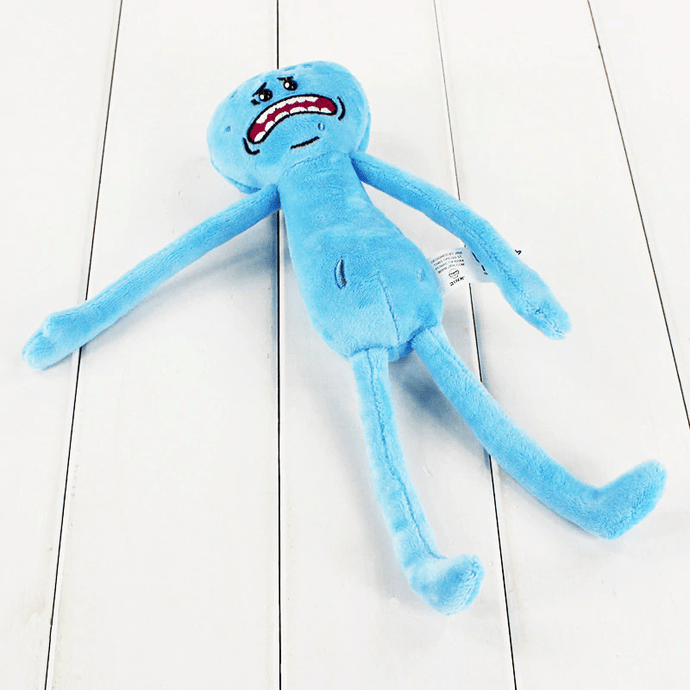 Mr. Meeseeks from Rick and Morty