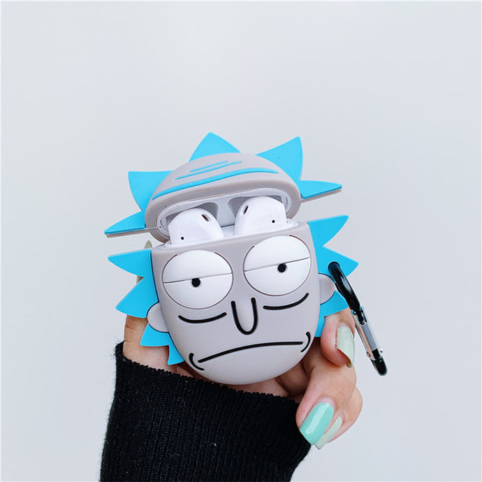 Rick and Morty Airpods case for 1st & 2nd generations