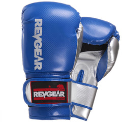 Pinnacle Boxing Gloves- Blue Silver