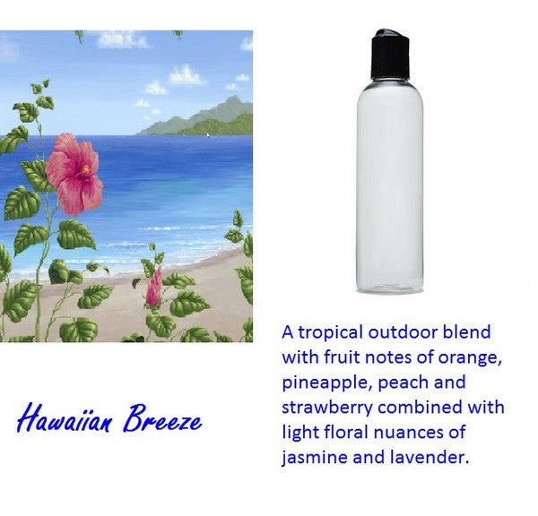Hawaiian Breeze Candle Oil 4 oz