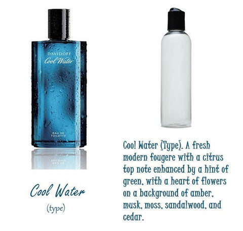Cool Water Candle Oil 4 oz
