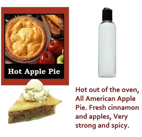 Hot Apple Pie Candle Oil 4 oz