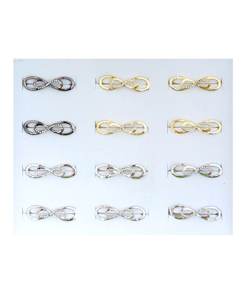 Jewelry Ring Double Finger Infinity