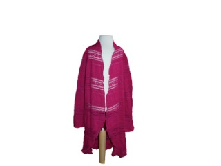 Cardigan Little Girl Pink