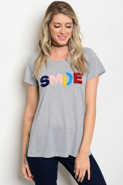 Smile Graphic Top
