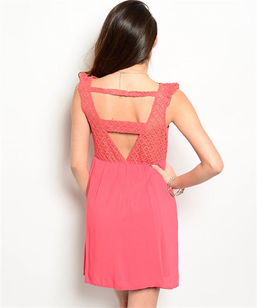 Coral Dress 36092