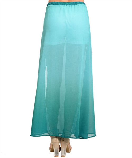 Maxi Skirt Mint Jade