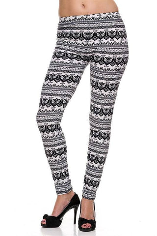 Black & White Leggings