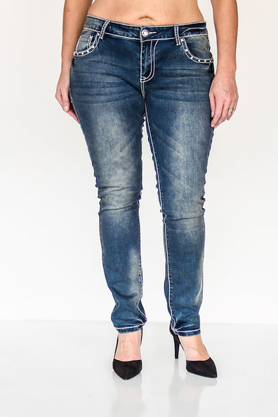 Isabella Logan Skinny Jeans by P4:13 Denim