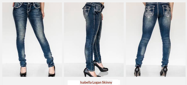 Isabella Logan Capris by P4:13 Denim