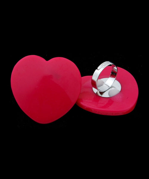 Ring Heart Adjustable