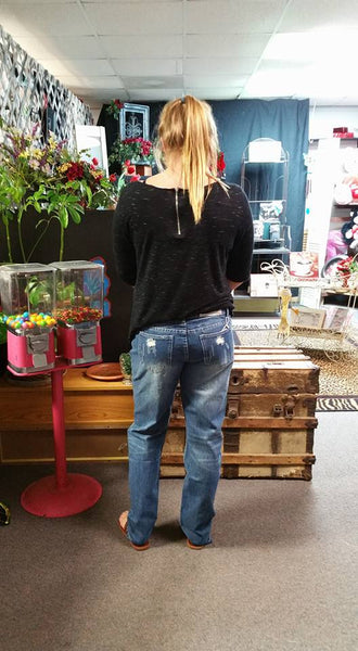 Emily Boyfriend Jeans by P4:13 Denim