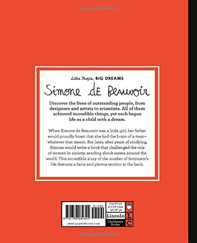 Simone de Beauvoir - Little People Big Dreams