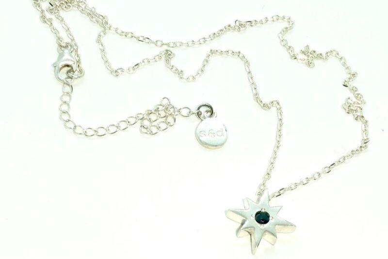 Black Morning Star Necklace