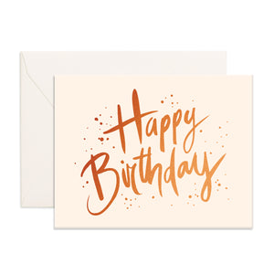 Happy Birthday Greeting Card - Addy & Lou