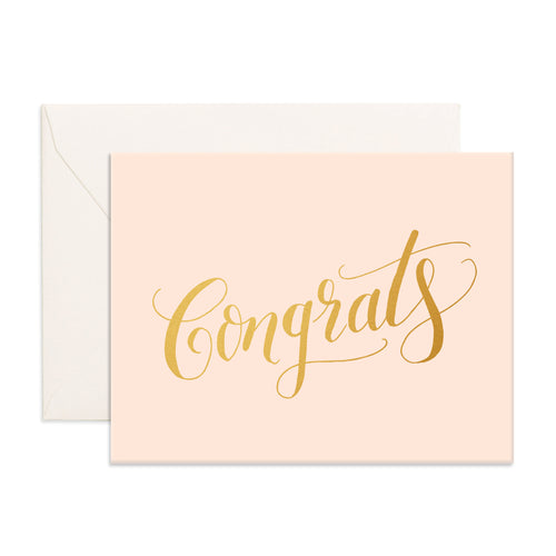 Congrats Greeting Card - Addy & Lou
