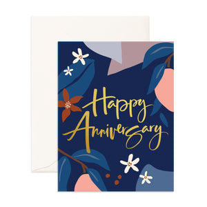 Happy Anniversary Greeting Card - Addy & Lou