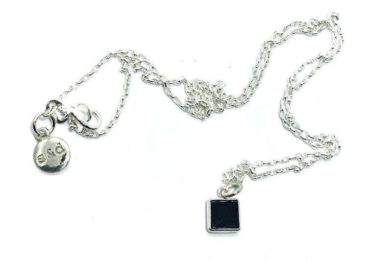 Goni Black Onyx Necklace - Addy & Lou