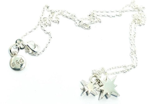 Silver Morning Star Necklace