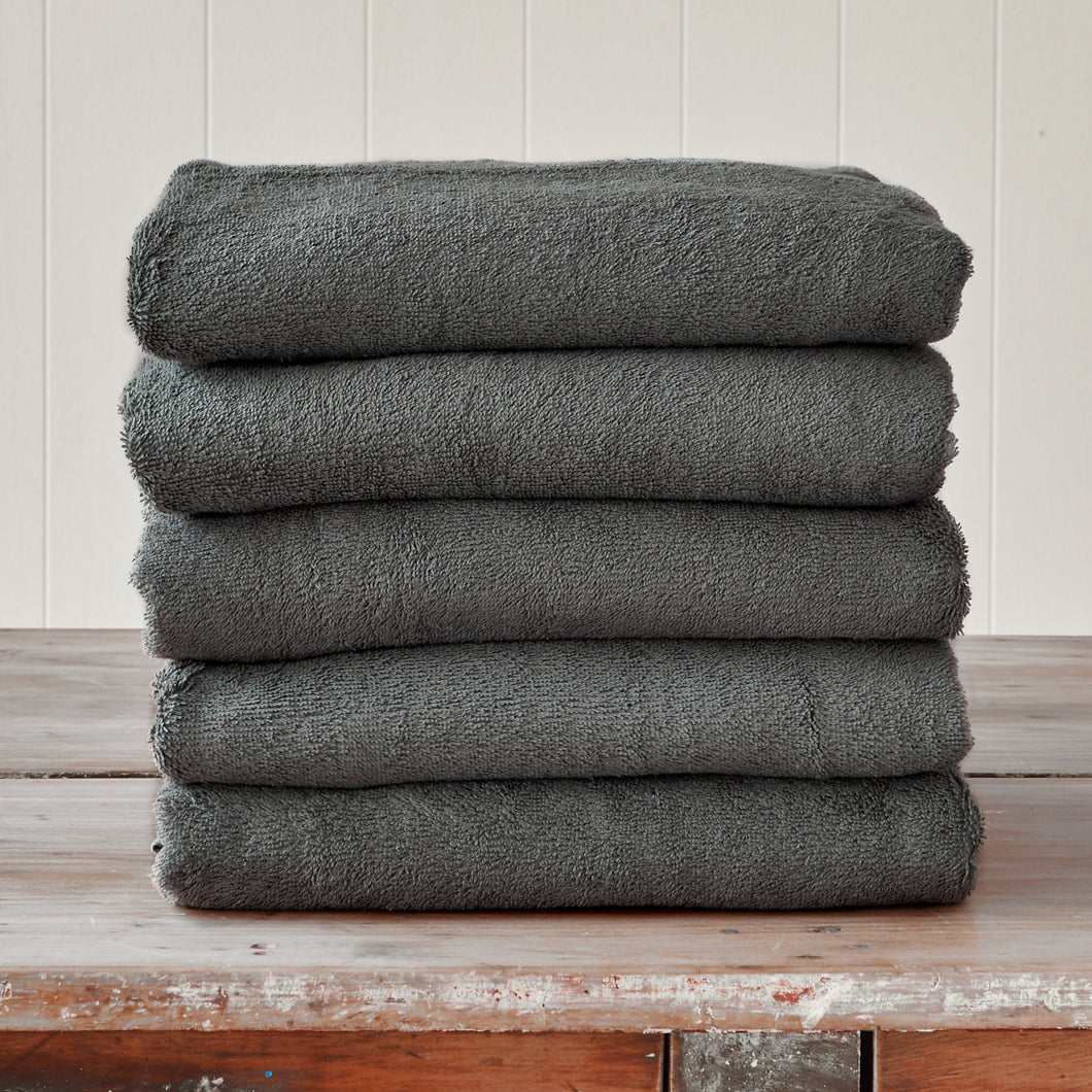 Steel Grey Bath Towel