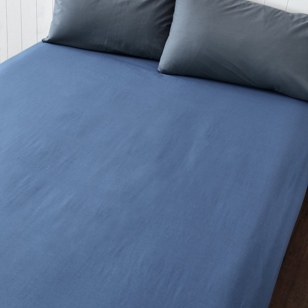Denim Blue Fitted Sheet