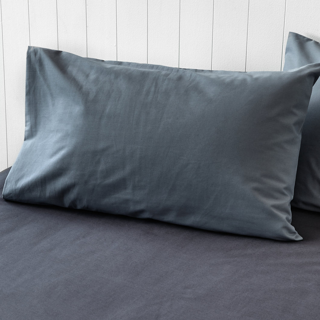 Steel Grey Pillowcases