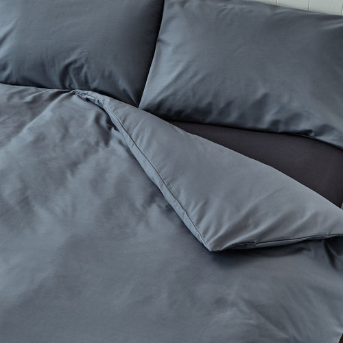 Steel Grey Quilt Cover