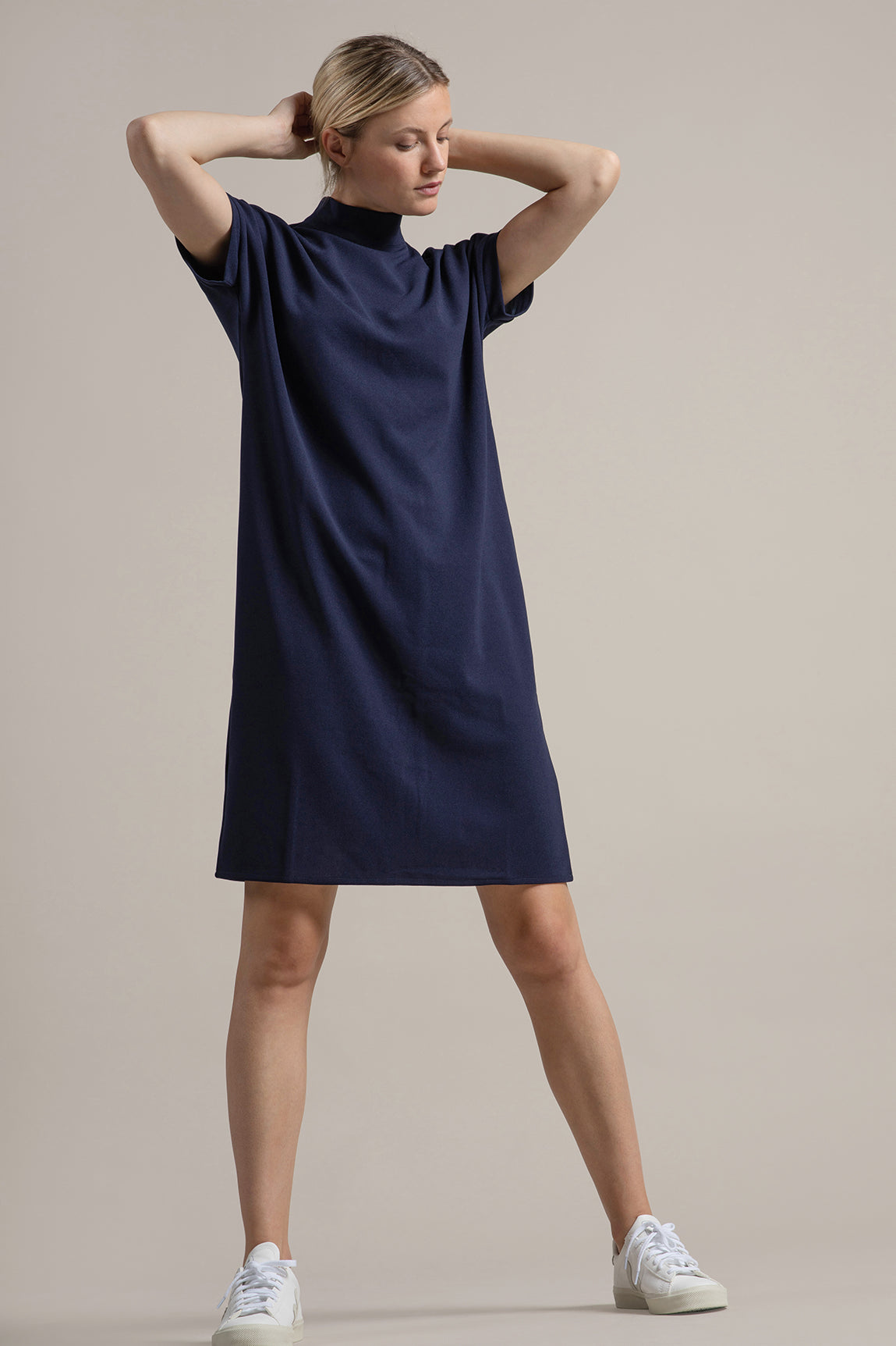 Jara Dress Navy