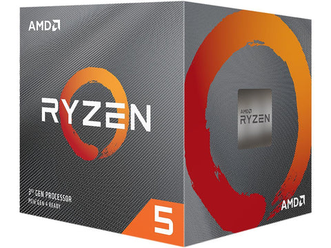 AMD Ryzen 5 3600XT Hexa-Core 3.6GHZ AM4 CPU-CPU - Bykski