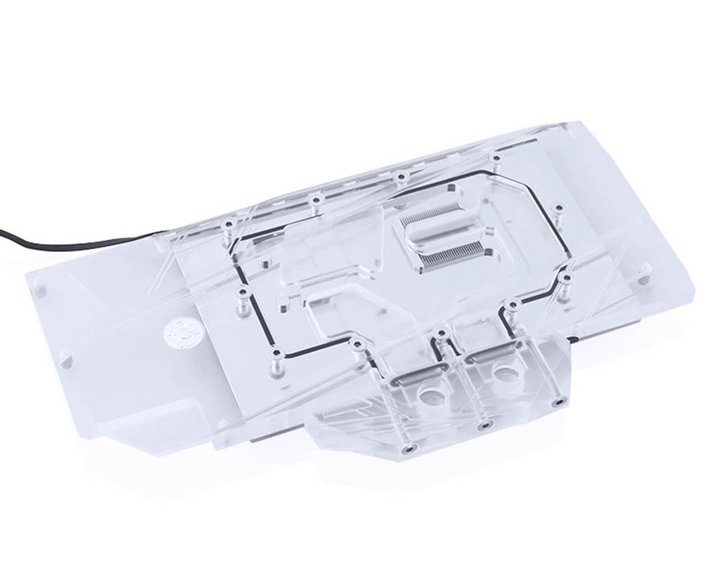 Bykski AMD RADEON VII Full Coverage GPU Water Block - Clear (A-Radeon-VII-X)-GPU WATERBLOCK - Bykski