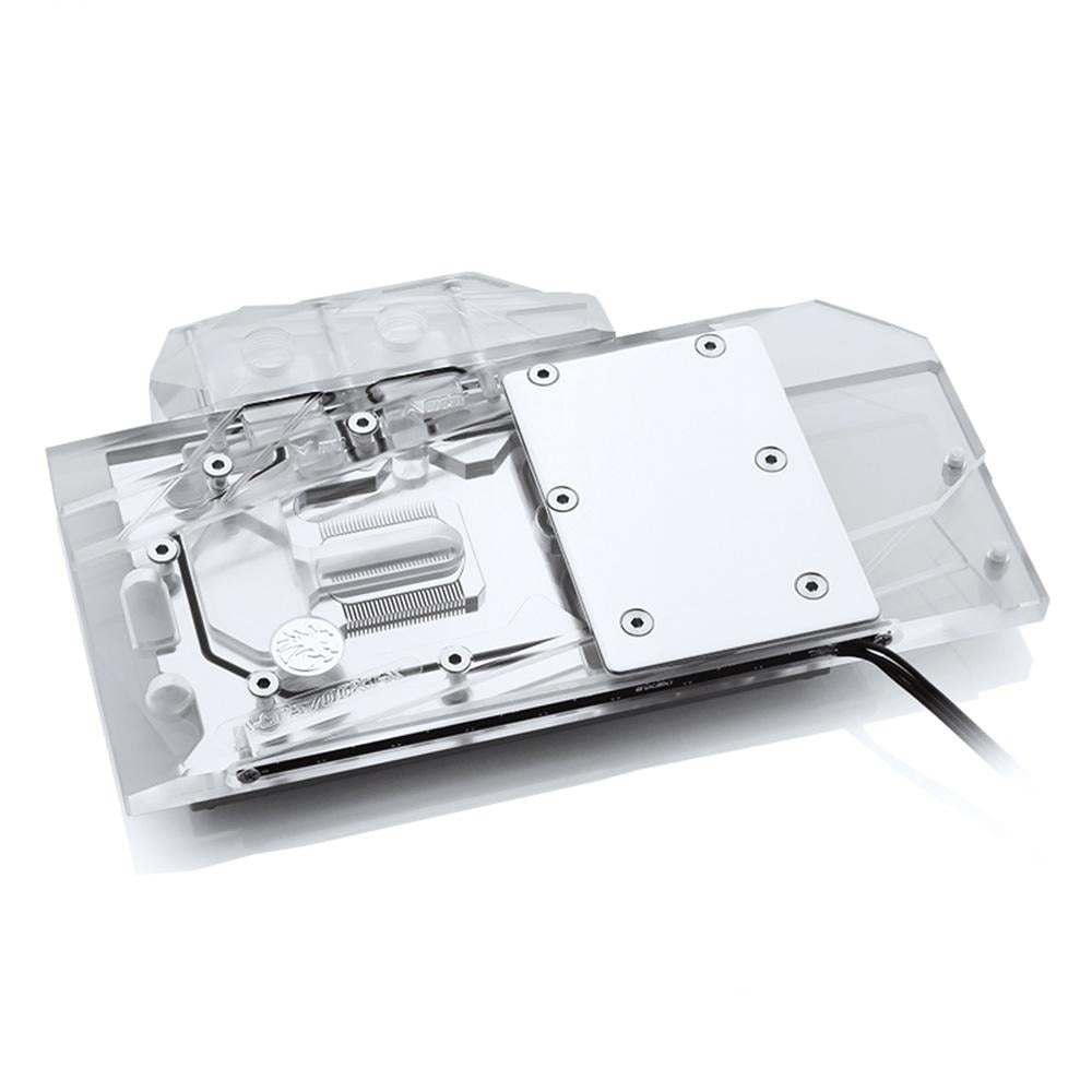 Bykski MSI RX5700XT Mech/Evoke Full Coverage GPU Water Block - Clear W/ RBW (A-SP5700XT-X)