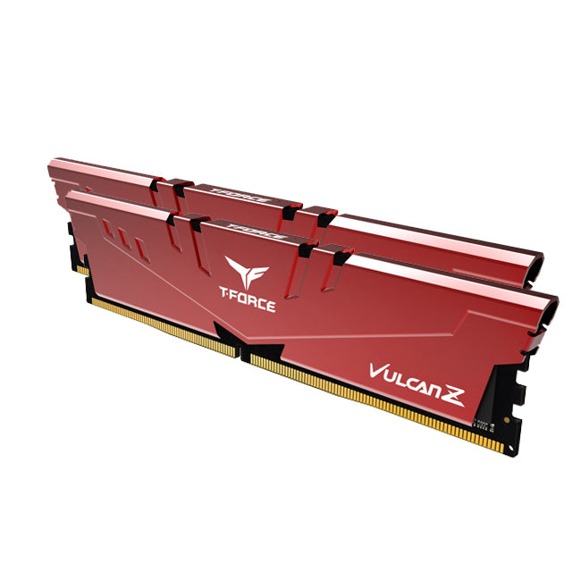 T-FORCE VULCAN Z 16GB (8GBx2) 3600Mhz RAM kit - RED