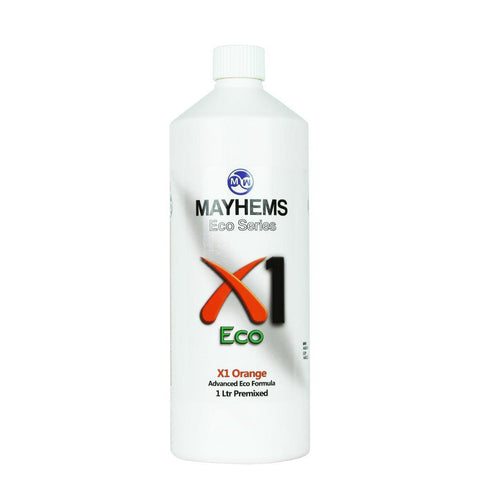 Mayhems X1 V2 Pre-Mixed Coolant - UV Orange | 1000ml