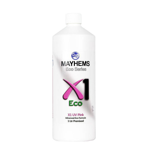 Mayhems X1 V2 Pre-Mixed Coolant - UV Pink | 1000ml