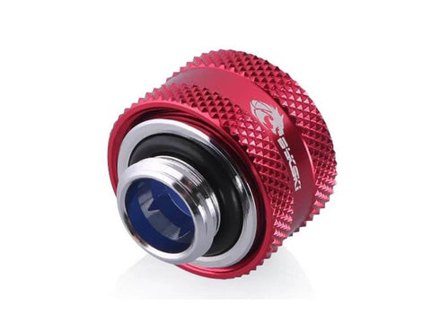 Bykski Anti-Slip Rigid 14mm OD Fitting - Red (B-FTHTJ-L14-R)-Fittings - Bykski