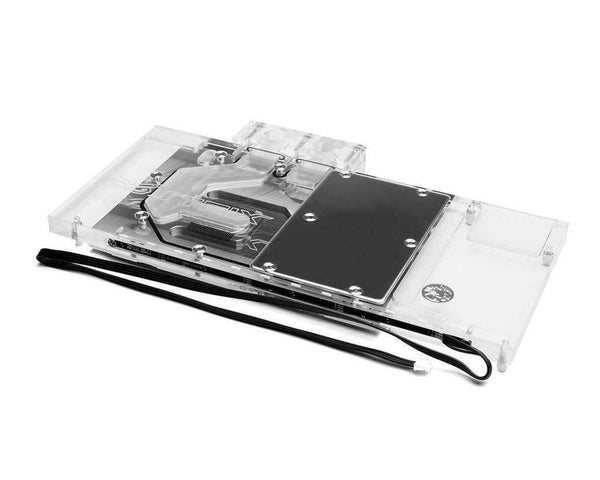 Bykski ASUS 1060/1070/1080 Full Coverage GPU Water Block - Clear W/ 5V Addressable RGB (RBW) (N-AS1080TI STRIX-X)-GPU WATERBLOCK - Bykski