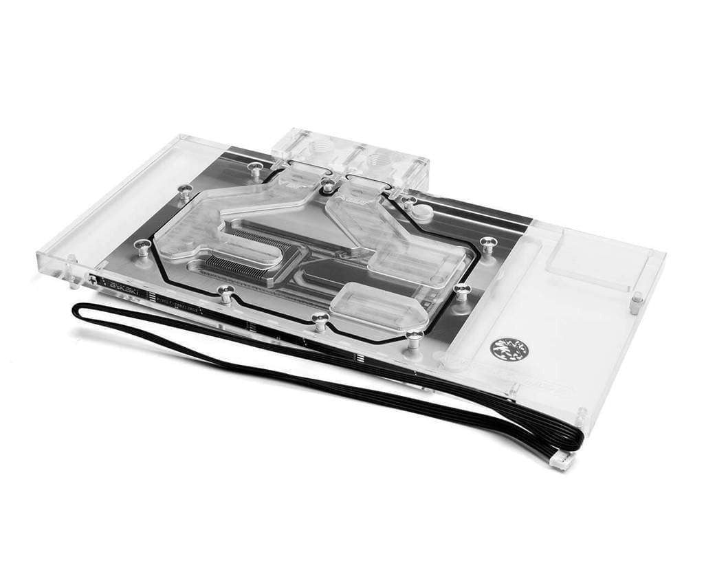 Bykski ASUS ROG Strix Radeon RX Vega 64 Full Coverage GPU Water Block - Clear W/ 5V Addressable RGB (RBW) (A-ASVEGA-X)-GPU WATERBLOCK - Bykski