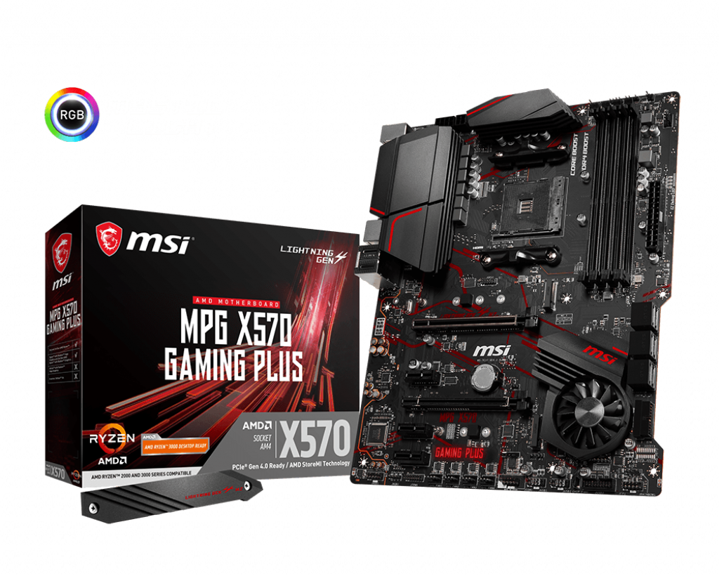 MSI MPG X570 GAMING PLUS AMD Motherboard-Motherboard - Bykski