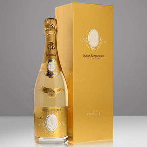 Champagne Louis Roederer Cristal Brut 2006 with gift box