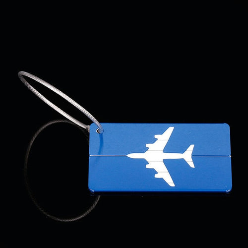 Flyer Aluminum Luggage Tags
