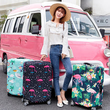 Load image into Gallery viewer, Flamingo Series Luggage Protective Cover